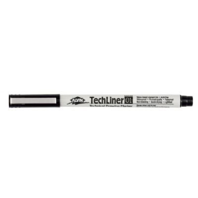 12 PACK TECH-LINER MARKER 0.1mm POINT Drafting, Engineering, Art (General Catalog) ()