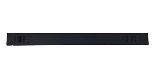 Rackmount Video - KENUCO 1U Toolless Rackmount Space Spacer Blank Rack Mount Filler Panel for IT Racks and Cabinets, Solid Black, 19
