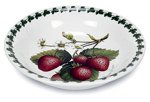 Portmeirion Strawberry (Portmeirion Strawberry Fair Earthenware 10-Inch  Pasta Bowl)