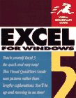 Excel 5 for Windows : Visual QuickStart Guide, Webster and Associates Staff, 1566090946