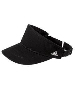 adidas Golf Womens Performance Front-Hit Visor (A650) -Black -OS (Adidas Sport Performance Buckle)