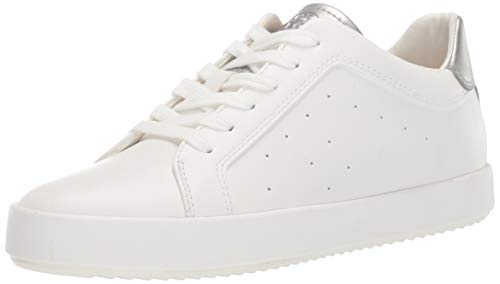- Geox Women's BLOMIEE 8 Fashion Sneaker, White/Silver 36 Medium EU (6 US)