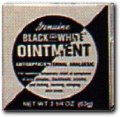Black and White Ointment skin protectant 5/8oz