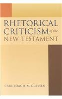 Rhetorical Criticism of the New Testament by Brill