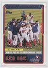 #4: Boston Red Sox Team (Baseball Card) 2004 Topps Boston Red Sox World Series - Box Set [Base] #49