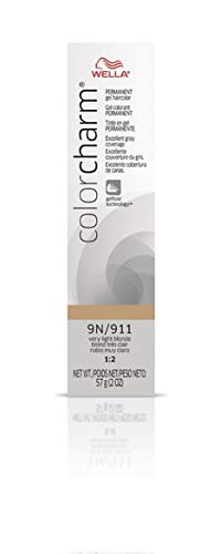 Wella Color Charm Gel 911/9N, Very Light Blonde, 2 Ounce