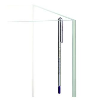 Landen Hang On Thermometer, Clear, 12mm (G-12C) by Landen