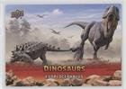 Euoplocephalus (Trading Card) 2015 Upper Deck Dinosaurs - [Base] - Extinction Red #75