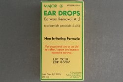 Ear Drops Earwax Removal Aid Carbamide Peroxide 6.5% Generic for Debrox - 0.5 oz. (15 ml) Per Bottle Pack of 6 Total 3 oz. ()