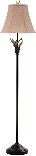 Safavieh Lighting Collection Sundance Antler Floor Lamp, Brown Antler Collection