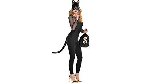 (Amscan Cat Burglar Halloween Costume Accessory Kit for Women, 4)