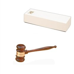 Imported Rosewood 10-1/2'' Standard Gavel by Gavel