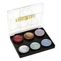 Coliro Artist Mica Watercolor Paint 6 Color Set, M600S Pearl and Shimmer Pearl -