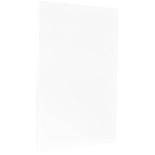 JAM PAPER Legal Strathmore 24lb Paper - 8.5 x 14 - Bright White Wove - 100 Sheets/Ream