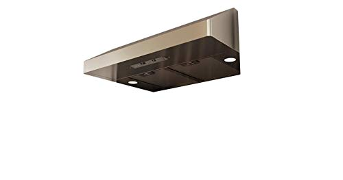 "Zephyr AK7100AS 30"" Essentials Power Series Gust Under-Cabinet Range Hood with 400 CFM in Stainless Steel"