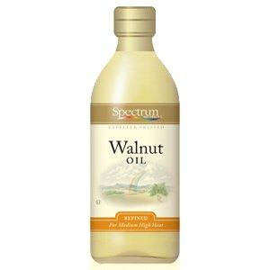 - Spectrum Naturals Refined Walnut Oil 48x 16 Oz