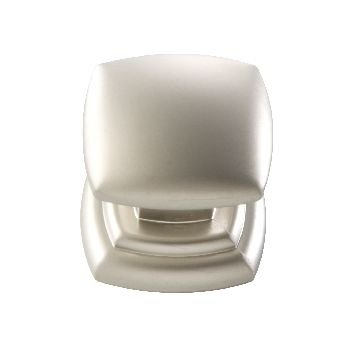 Euro Contemporary Square Knob Finish: Pearl (Pearl Nickel Contemporary Handle Pulls)