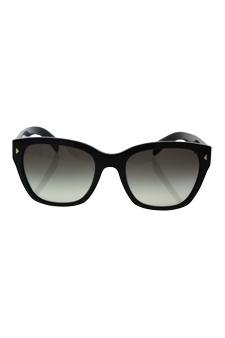 68ca894b3 Amazon.com : Prada Spr 09s 1ab-0a7 - Black/grey Gradient Sunglasses For  Women : Beauty