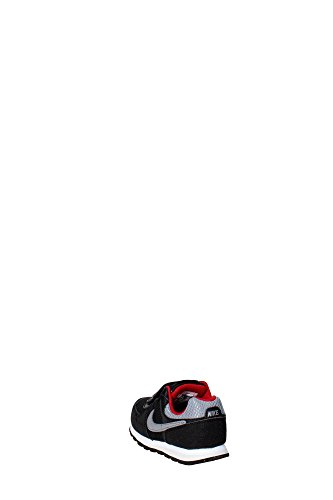 Nike Zapatillas Md Runner Tdv Negro / Gris / Rojo EU 25 (US 8C)