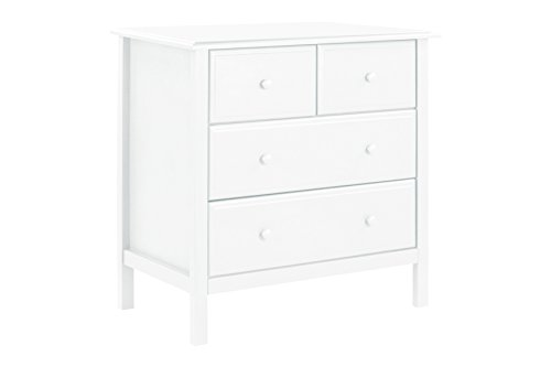 DaVinci Autumn 4-Drawer Changer Dresser with Removable Changing Tray, (Nursery Set Vanity)