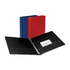 12 Avery Economy Round Ring Reference 3-Ring Binders, 2 Capa