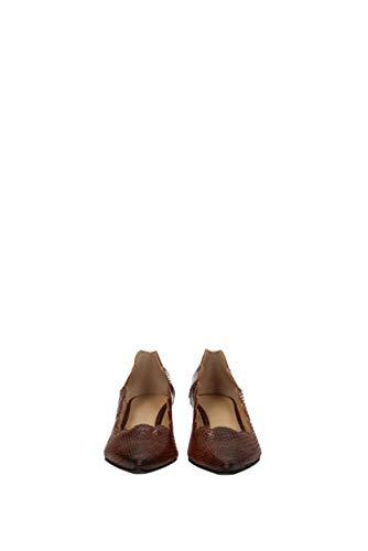 Chloé Talon stampaserpentech31080a5a39l7 Femme Cuir Eu Marron PBqw8p