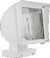 (Rab Fx150xw/480 Flexflood 150w Hps 480v Hpf Wallmount + Lamp White )