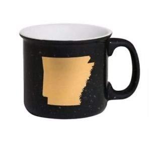 About Face Designs Arkansas Ceramic Campfire Mug 13.5 oz.