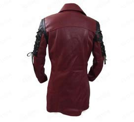 BIKETAFUWY Mens Vintage Leather Jackets Long Zipper Motorcycle Coats Faux Fur Distressed Parka Pocket Outdoor Outerwear