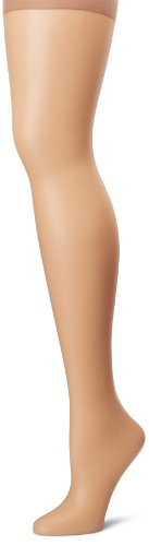 picture of Hanes Silk Reflections Women's Absolutely Ultra Sheer Control Top with Toe, Hazelnut, D