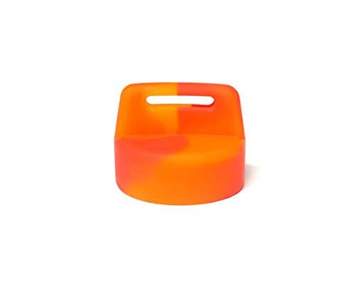 Polaris RZR XP1000 900 800 570 General Ranger Sportsman Quad Ignition Switch Key Cover (FireBall-Orange/Red Swirl)