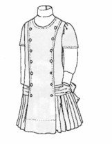 [1910 Girls' Princess Dress Pattern] (1910 Costumes)