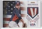 Marco Gonzales #26/35 (Baseball Card) 2012 Panini USA Baseball National Team - Collegiate National Team Patches - 35 Marcos 10