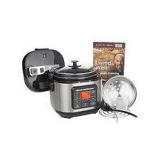 Amazon Com Montel Williams Living Well 5qt Pressure Cooker