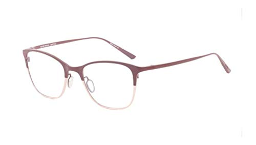Oliver Peoples Rx Eyeglasses Frames Abbe 1153T 5202 48x19 Burgundy / Rose ()