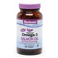 Bluebonnet Omega-3 Salmon Oil 90 Sgs 1000 Mg. 2 Pack