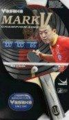 Yasaka MARK V Racket, Flared Handle (Champion Line) for Table (Yasaka Table Tennis Rubber)