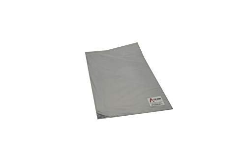 A-Team Performance 13575 Adhesive Backed Aluminized Fiberglass Heat Shield Barrier Up To 2000 Degrees Fahrenheit Multi-Purpose Compatible with Firewall Hoods Hoses and Doors 12