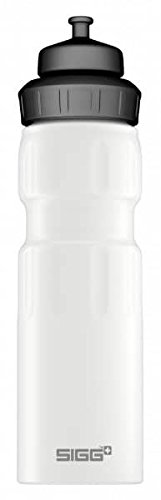 Sigg Wide Mouth Water Sports Bottle, 0.75L, Pack of 6 (White Touch)