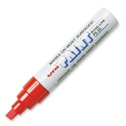Uni-Paint PX-30 Oil-Based Paint Marker, Broad Point, Red, 1-Count