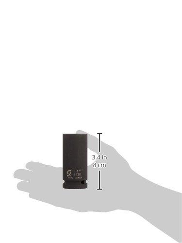 Sunex 432D 3//4 Drive Deep 6 Point Impact Socket 1 Sunex International