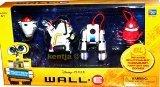 : WALL-E Reject-Bots Action Figures from the Disney Pixar Movie WALL-E