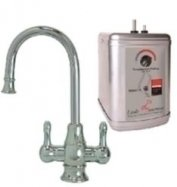 Mountain Plumbing MT1101-NL-PN Polished Nickel Universal The Little Gourmet Instant HOT & COLD Water Dispenser
