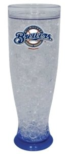 Milwaukee Brewers Crystal Pilsner Glass