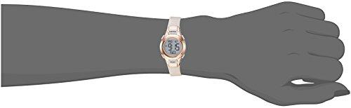 Armitron Sport Women's 45/7012PBH Rose Gold-Tone Accented Digital Chronograph Blush Pink Resin Strap Watch by Armitron Sport (Image #1)