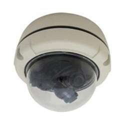 Everfocus Housing - Everfocus EH3D600 Analog 3-in-1 Outdoor Vandal Dome Camera, Multiview, 12 mm Lens, Outdoor 3-Axis, White Housing, 12VDC