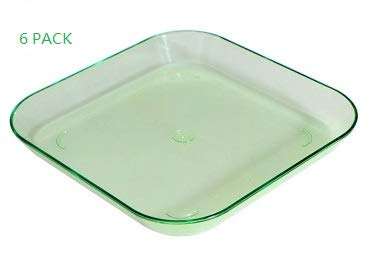 Plastic Serving Trays - Serving Platters | 6 Pack, 6