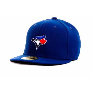 MLB Toronto Blue Jays Game Youth AC On Field 59Fifty Fitted Cap, Royal, 6 5/8
