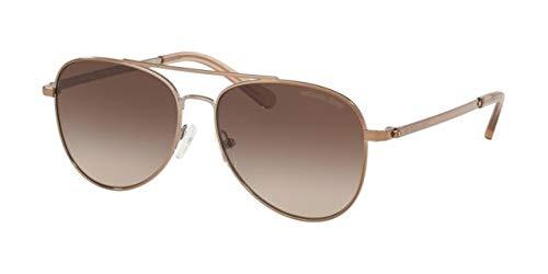 Michael Kors 0MK1045 Gafas de sol, Shiny Mink Brown, 56 para ...