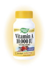 Vitamin A 10000IU 100 Softgels ( Multi-Pack) by Nature's Way
